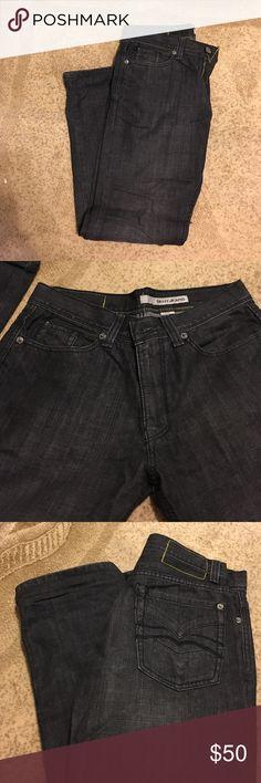DKNY Slim Black Jeans 30x30 DKNY Jeans Slim Straight