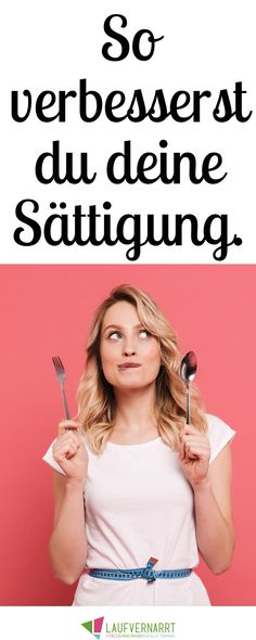Do you suffer from overeating and lack of satiety? Do you even get cravings? Then you will get the best tips on how to get full faster and not overeat. # cravings # satiety No more overeating - 10 tips for better satiation - love of running La Healthy Diet Tips, Diet And Nutrition, Fitness Motivation, Fitness Hacks, Health Fitness, Diet Meme, Bodybuilding, Mental Training, Health Cleanse