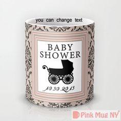Personalized mug cup designed PinkMugNY  Baby Shower by PinkMugNY, $10.95