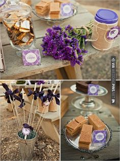 s'mores wedding ideas | VIA #WEDDINGPINS.NET