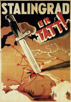 "Norwegian WW2 ""Is taken"" German propaganda celebrating the conquest of Stalingrad that never happened"
