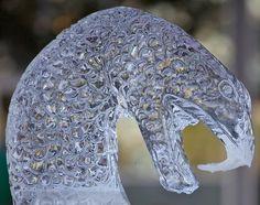 Snakehead Ice sculpture Snow Sculptures, Sculpture Art, Totally Awesome, Awesome Art, Ice Art, Snow Art, Ice Ice Baby, Unusual Art, Snow And Ice