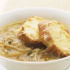 Onion soup (in greek) My Favorite Food, Favorite Recipes, Greek Cooking, Onion Soup, Mashed Potatoes, Macaroni And Cheese, Pork, Cooking Recipes, Chicken