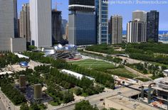 het Millennium Park in Chicago