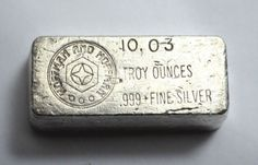 Poured Loaf 5 Troy oz .999 Silver Bar Brilliant Finish