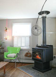 Shutters for AC  Jill & Dan's Lighthearted Home