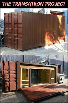 Want to Know What's Involved in a Container Conversion? Read Patrick Buckle's Transatron Project