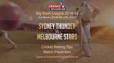 Cricket Baazigar Provide 100% Expert Cricket Match Prediction and Cricket Betting Tips Perth Scorchers vs Adelaide Strikers #cricket #news #betting #Tips #prediction