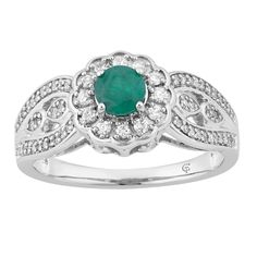Photo Jewelry, Fine Jewelry, Emerald Stone, 3 Carat, Diamond Clarity, Gold Bands, Cocktail Rings, Colored Diamonds, Fashion Rings