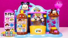 Disney Tsum Tsum Toy Shop Playset Exclusives Surprise Tsum Tsums Toy Kingdom.