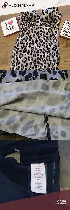 ❤️Victoria's Secret body shaper❤️ New! Size 36C Animal print Adjustable straps❌No Trades❌ Victoria's Secret Intimates & Sleepwear Shapewear
