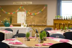 Relief Society Birthday Dinner: Bloom Where You're Planted
