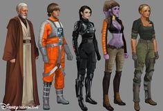 ArtStation - Star Wars mobile game - Disney Interactive, will nichols