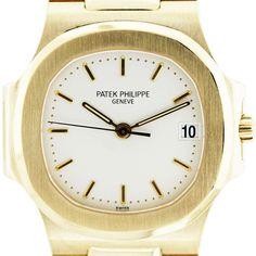02debe59120 Patek Philippe Nautilus 3800 1J-001 18k Yellow Gold Watch Fine Watches