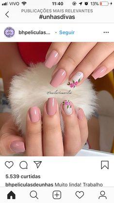 Korea Nail Art, Extension Designs, Dream Nails, Cute Nails, Chocolates, Nail Colors, Nail Art Designs, Acrylic Nails, Nail Polish