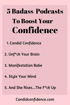 These 5 Podcasts are sure to give you the kick in the butt you need to boost your confidence and motivation. Positive Affirmations Quotes, Affirmation Quotes, Robert Kiyosaki, Quotes Dream, Manifestation Journal, Law Of Attraction Affirmations, Manifestation Law Of Attraction, Self Care Activities, Encouragement