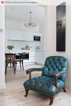 blue chair#interiordesign