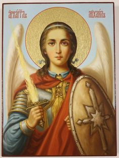 Icon of Archangel Michael cm), Russian Orthodox Icon, Handpainted icon, Religious painting Orthodox Catholic, Russian Orthodox, Catholic Art, Angel San Rafael, Archangel Raphael, Raphael Angel, Paint Icon, Byzantine Icons, Angels Among Us