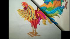 Embroidershoppe Rooster Collection in Applique Machine Embroidery Applique Design, Embroidery Designs, Video Tutorials, Machine Embroidery, Rooster, Collection, Animaux, Roosters, Machine Embroidery Designs