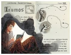 Фан арт по Гарри Поттеру фан-арт, Гарри Поттер, Picolo-kun, deviantart, Photoshop, длиннопост