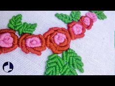 Hand Embroidery | Bullion Stitch flower | HandiWorks #37 - YouTube