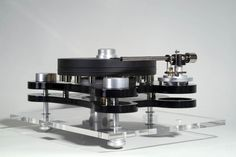 """Gold Note - Bellagio II ,High End Turntable"" !...  http://abot.me/Samissomar"
