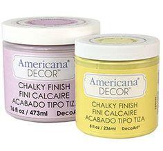 ASPC Vs. Americana Decor chalk paint
