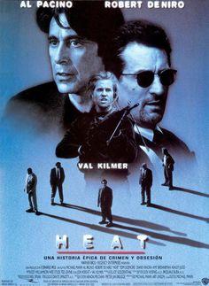 Heat (1995). Dir. Michael Mann.  Al Pacino, Robert De Niro, Val Kilmer.
