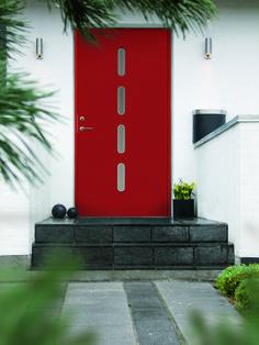 Swedoor Character Beat ytterdør Kerb Appeal, Beats, Garage Doors, Ovet, Outdoor Decor, Character, Design, Home Decor, Decoration Home