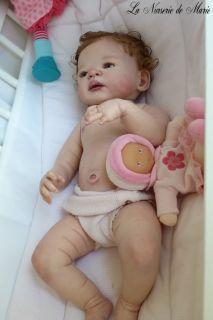 Reborn Baby Girl Doll Prototype Victoria Sheila Michael