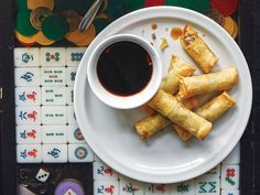 Lumpia (Filipino Deep-Fried Pork Spring Rolls)