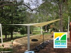 This 👨‍🎓👩‍🎓school playground is sun☀️ smart ready with a shade sail for the Sandpit at the Brisbane Independent School. Our sails are reinforced with seat belt webbing and 316 stainless steel wire. For an obligation free quote call or 📞 0429 220