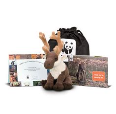 Help ensure the survival of animals around the world with an adoption kit from the World Wildlife Fund.