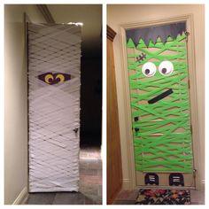 Halloween DIY doors