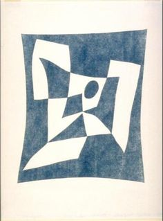 Jean Arp (1886 - 1966) | Abstract Art | Abstract Composition, Knossos - 1956