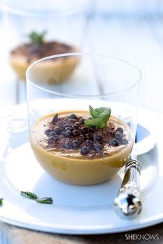 Eat like an Italian: Zabaione with coffee and chocolate