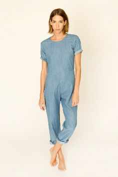 Image of Lee Jumpsuit, Chambray