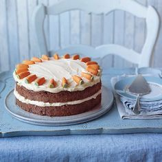 When it comes to an afternoon tea treat our carrot cake recipe is the perfect thing to fit the bill. Try our recipe for your best-ever slice. The post Best-ever carrot cake appeared first on Orchid Dessert. Cake Recipes Uk, Sponge Cake Recipes, Baking Recipes, Baking Ideas, Carrot Recipes, Big Cakes, Food Cakes, Easy Carrot Cake, Carrot Cakes