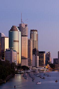 Brisbane at dawn, Queensland Perth, Brisbane Queensland, Brisbane City, Queensland Australia, Western Australia, Australia Travel, Melbourne, Sydney, Tasmania