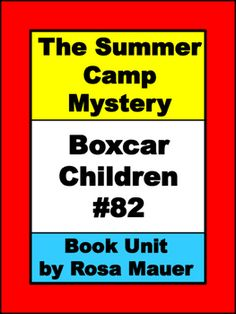 The Summer Camp Mystery (Boxcar Children 82) by Gertrude Chandler Warner: Receive 7 comprehension questions for each chapter in task card and worksheet formats. Questions begin with who, what, when, why, where, and how. Response forms for students and answers for the teacher are provided.Book extension printables to enhance common core skills are also included.