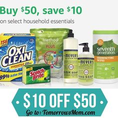 So many possibilities on top of ss-5% off and additional % OFF coupons GO to link in my bio @tomorrowsmom for details . . . . Visit My Blog: TomorrowsMom.com |Organic & Natural Deals|Family Savings Deals| . TAG OR DM THIS DEAL 2 A FRIEND .  #frugal #savings #deals #cosmicmothers  #organic #fitmom #health101 #change #nongmo #organiclife #crunchymama #organicmom #gmofree #organiclifestyle #familysavings  #healthyhabits #lifechanging #fitpeople #couponcommunity #deals  #healthyppl #motherhood…