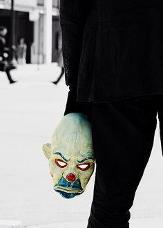 Joker mask, TDK.
