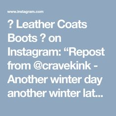 """👢 Leather Coats Boots 👢 on Instagram: """"Repost from @cravekink - Another winter day another winter latex outfit #latex #latexmodel #fetish #kink #shiny #model #cravekink #bdsm…"""""""