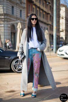 Gilda Ambrosio Street Style Street Fashion by STYLEDUMONDE Street Style Fashion Blog