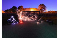 Amazing Stuff! » Michael Bosanko: Light graffiti