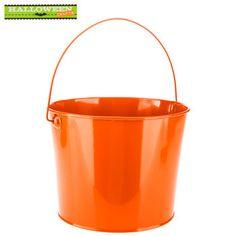 Orange Metal Bucket