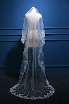 Velo de novia / Wedding veil - hecho a mano en DaWanda.es