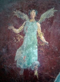 Detail Of Wall Painting, Pompeii