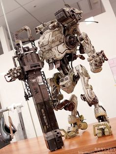 Scale Titanfall Stryder Comes With Working Lights, 100 Articulation Points - IGN