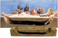 T-Rex Foam Peek-a-View Burrow (for large critter keepers) - Foam Hides Leopard Gecko Terrarium, Lizard Terrarium, Leopard Gecko Habitat, Leopard Gecko Care, Gecko Vivarium, Bearded Dragon Cage, Bearded Dragon Habitat, Reptile Habitat, Reptile Room